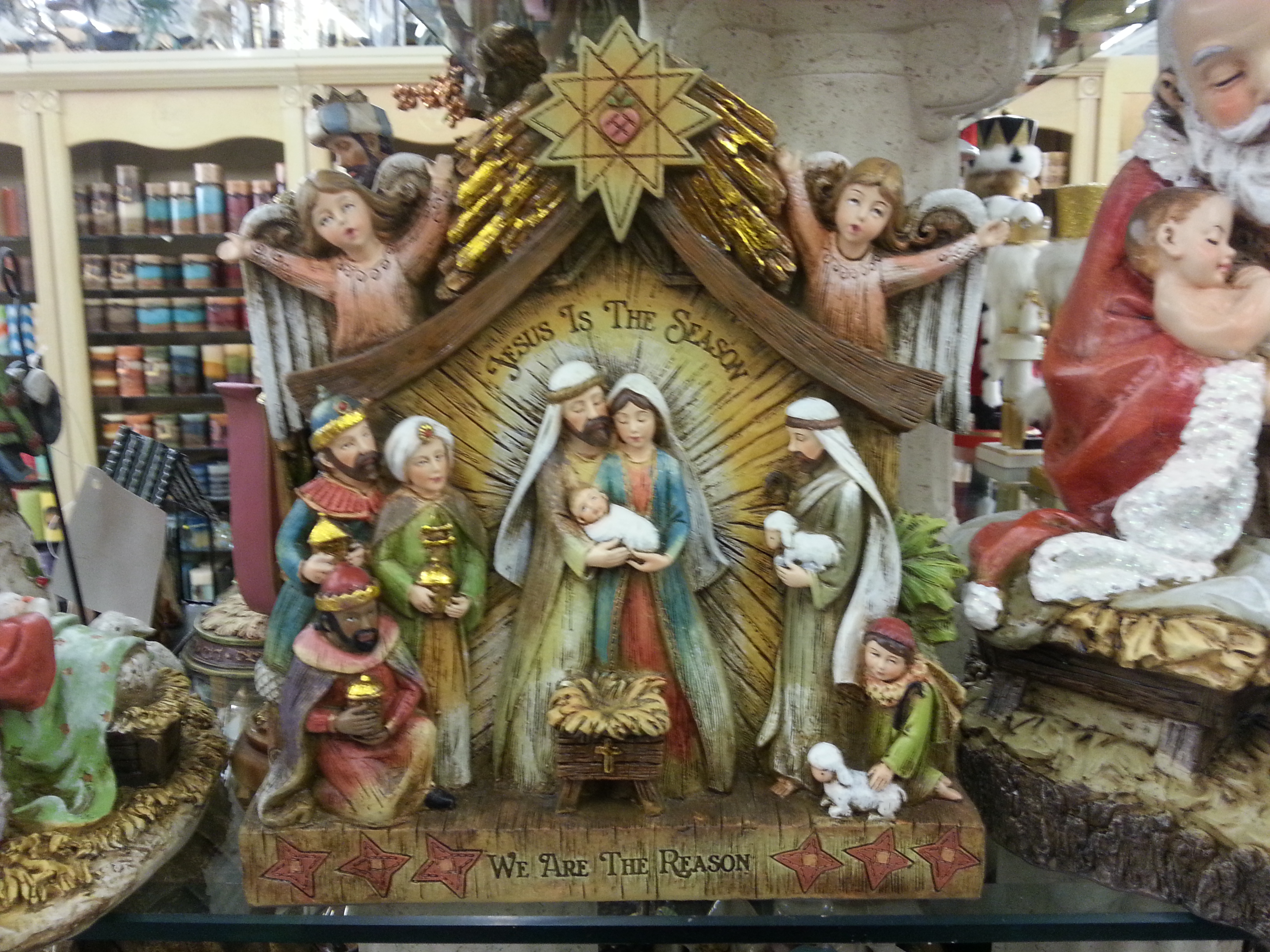 Christmas, nativity, creche, Jesus, hope, peace, serenity
