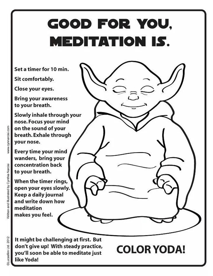 Yoda, meditation, peace, joy, serenity
